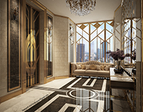 [ART DECO] Private Elevator Penthouse Entry