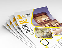 modern real estate flyer template free download
