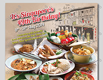 Buffet Town : Singapore's 49th Birthday