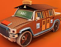 Corruption Vehicle 3D