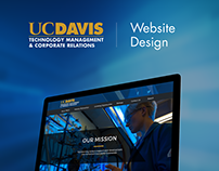 UC Davis | TMCR: Website Design