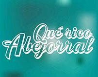 """Logo de campaña """"Qué rico Abejorral"""""""