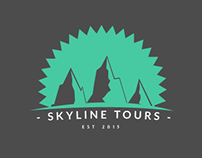 Skyline Tours Logo Design