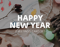 greetings card set