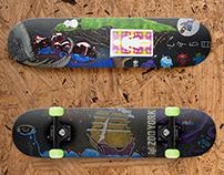 Life's Hieroglyphics Skateboard Series