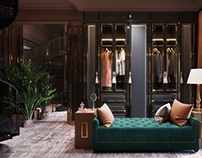 Classical wardrobe