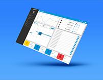 entreGO | Control Panel + Messenger App UI/UX