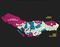 MAPS OF SINGAPORE ISLANDS