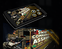 SWAT COMMANDO ASSAULT Game Ui Design