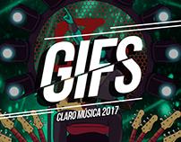 Gifs Claro Musica - 2017