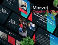 Marvel - Creative Presentation Template