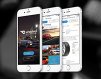 Wheelwell iOS App - UI/UX including Visual Recognition