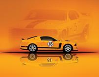 Saleen / Parneli Jones Mustang