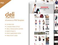 Deli - eCommerce PSD Template