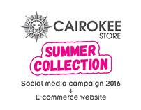 Cairokee Store - Summer 2016 Social media campaign