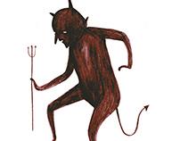 Devil's Dance (Animation/Illustration)