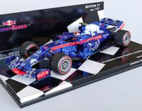 Scuderia Toro Rosso Honda STR13 diecast - Minichamps fi