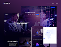 Onestic - Redesign