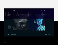 ArtGallery · Website concept