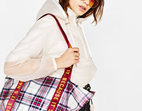 Shoppimg bag for SS18 Bershka Collection