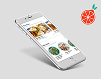 Toters – food delivery app design