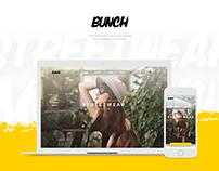 BUNCH. Website concept