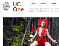 UC ONE - Concept Design With Wordpress