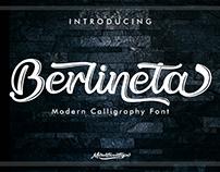 Berlineta: Handwritten Font