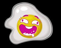fried eggs_Stickers