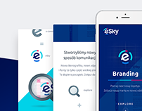 eSky - introduction to brand redesign