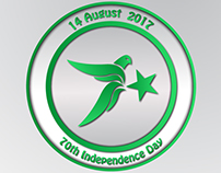 Pakistan 70th Independence Day LOGO