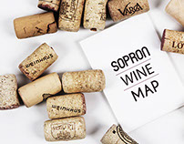 Sopron Wine Map