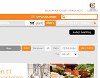 GUI for internal Service Portal