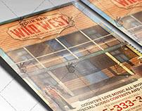Wild West - Premium Flyer PSD Template