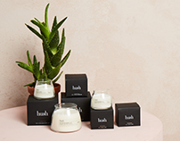 Hush Candles - Packaging & Illustrations