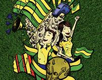 Campanha Copa 2010 - Day Brasil