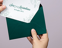 Sara & Massimiliano - wedding stationery