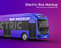 Hyundai Electric City Bus Mockup