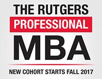 Rutgers Professional MBA - General Dilworth Plaza Ad