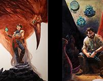 Acrylic Paintings/Illustrations