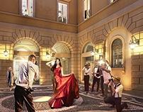 Milan Showroom Palace