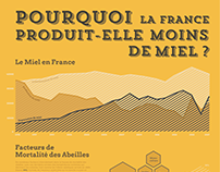 Information Design || Production de Miel Français