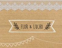 Virtual wedding card