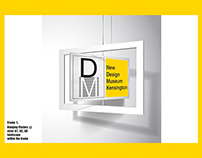 // New Design Museum Identity – Kensington, London ISTD