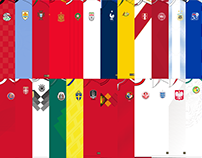 Camisetas de Rusia 2018