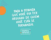 Criação textual e conceitual campanha dia das crianças