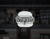 Burgeria logo Design