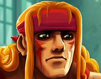 Fanart - Alex (Street Fighter)