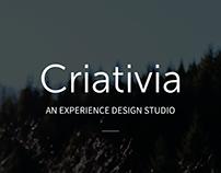 Criativia Landing Page
