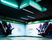 Shooting / Milan subway